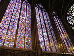 gothic church of sainte chapelle