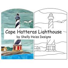 stained glass pattern cape hatteras