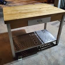 john boos cart cucina edge grain maple