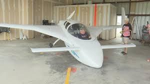 homemade experimental aircraft takes flight