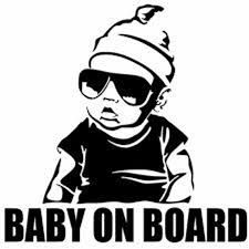 Baby On Board Baby Decal Car Decal Window Decal Etsy