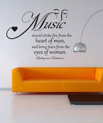 Vinyl Wall Decal Sticker Music Quote Os Dc523 Stickerbrand