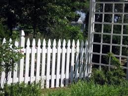 Wood Picket Fence Installation Anderson Fence Company