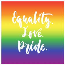 Equality Love Pride Sticker