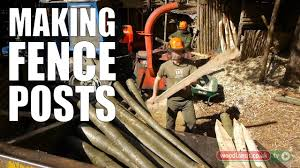 Making Fence Posts Youtube