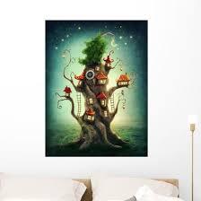 Magic Tree House Wall Decal Wallmonkeys Com