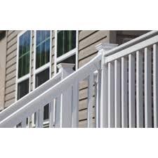 Rdi Finyl Line White Vinyl Stair Rail Bracket 2 Pack Taylor S Do It Center