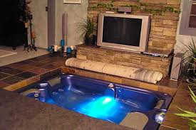 inground spa and hot tub gallery