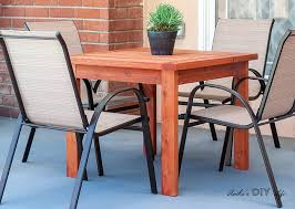simple diy outdoor dining table for 20