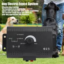 Hidden Waterproof Rechargeable Wireless Pet Control Electric Fence System Dog Training Shock Collars Lazada Ph