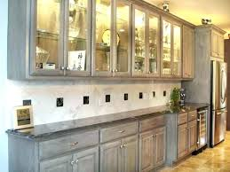kitchen glass cabinets ink co