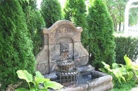 landscape water fountains garden