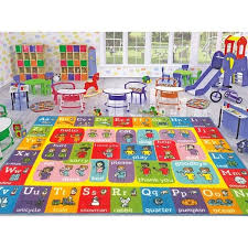 Shop Kc Cubs Abc Alphabet Asl Sign Language Educational Learning Polypropylene Kids And Children Area Rug Overstock 27148370