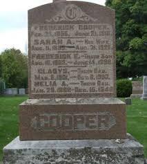 Melia Ada Cooper (1888-1949) - Find A Grave Memorial