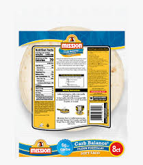 mission low carb tortillas nutrition