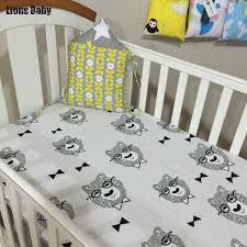 bedroom crib cot fitted sheets
