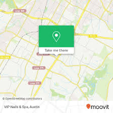 vip nails spa in austin by bus