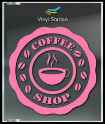 Coffee Shop Cafeteria Bar Decal Sign Business Uber Store Vinyl Window Decal Ebay