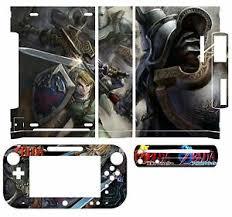 Skin Sticker Cover Decal For Nintendo Wii U Console Controller 061 Zelda Ebay