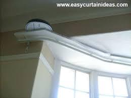 flexible curtain tracks for bay windows