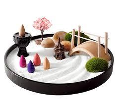 miniature zen garden for relaxing