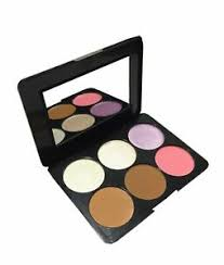 powder palette highlighter bronzer