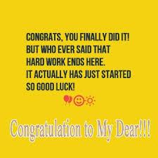 sweet congratulations message for girlfriend for graduation
