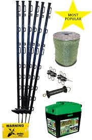 Electric Fence Equine Horse Starter Kit In Green Everything You Need Ebay