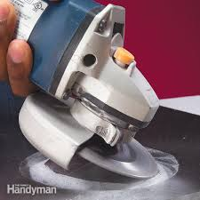 how to cut tile with a grinder the