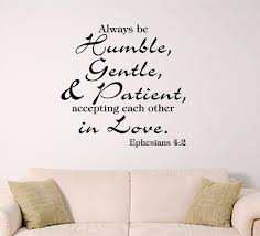 Bible Verse Wall Decal Ephesians 4 2 Accept Each Other In Love