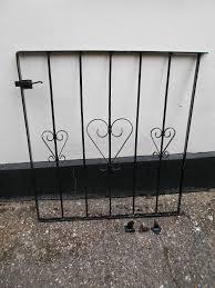steel garden gate in wareham dorset