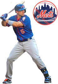 Amazon Com David Wright Mini Fathead New York Mets Official Mlb Vinyl Wall Graphic 7 Inch Kitchen Dining