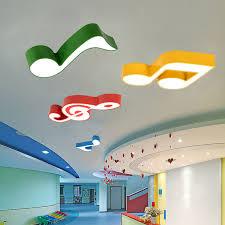 Color Musical Ceiling Lights Kids Room Led Ceiling Lamp Creative Cartoon Music Classroom Kindergarten Dance Room Light Fixture Ceiling Lamp Light Fixturesmusic Ceiling Light Aliexpress