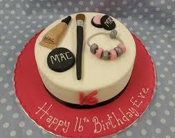 mac makeup theme cake ravens bakery
