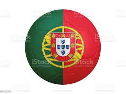 Pallone Da Calcio Con Bandiera Portogallo - Fotografie stock e altre  immagini di Bandiera - iStock