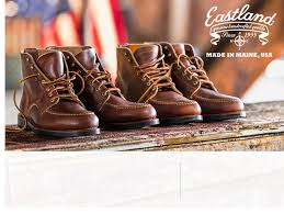 premium leather shoes eastland made