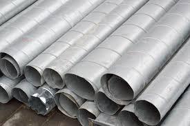 large iron metal tin corrugated