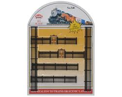 Model Power Ho Scale Black Iron Fences 6 Mdp548 Toys Hobbies Amain Hobbies