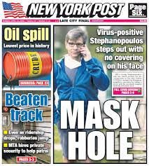After NY Post Cover, George ...