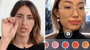 ar filters will let you try on makeup