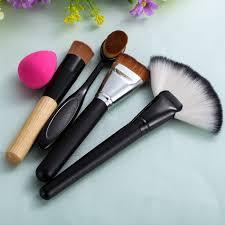 powder blush foundation brush 1x sponge
