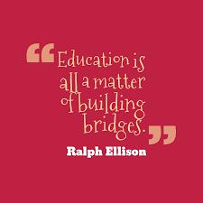ralph ellison quote about education