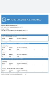 Ecco le materie esterne della Maturità 2020 (GALLERY) - Liceo Spoleto