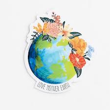 Love Mother Earth Sticker Paper Source