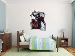 Captain America And Flash Wall Decal Egraphicstore
