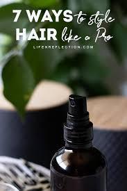 diy hair spray an alcohol free