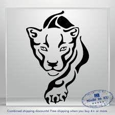 Tiger Decal Lion Sweet Puma Funny Auto Car Bumper Window Vinyl Sticker Laptop Ebay