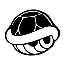4 5 Mario Shell Vinyl Decal Sticker Car Window Laptop Retro Game Kart Race Ebay