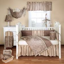 cora 3 piece baby crib bedding set by