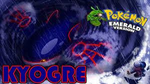 Pokemon Super Mega Emerald : KYOGRE !! - Story Universe - YouTube